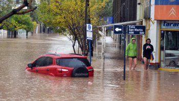 Evaluarán qué obras faltan para evitar inundaciones