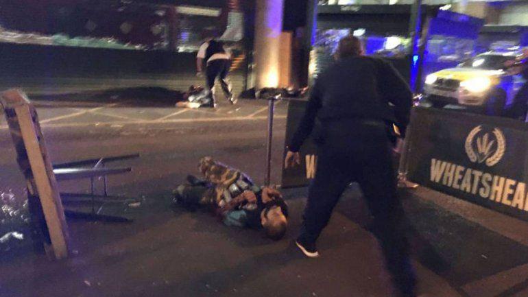 Pánico en Londres: seis jóvenes fueron apuñalados