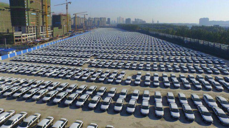Un cementerio de casi 300 mil autos en EE.UU.