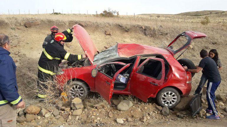 Otro accidente ayer a la tarde involucró a dos mujeres. Fue sobre la ruta 23.