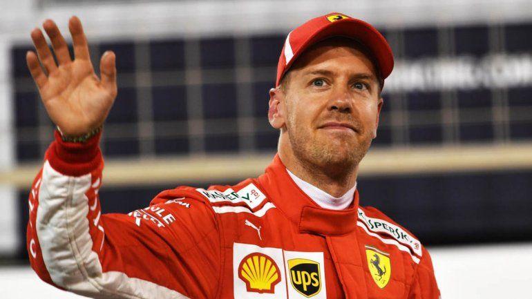 Vettel se quedó con la tercera pole consecutiva del año
