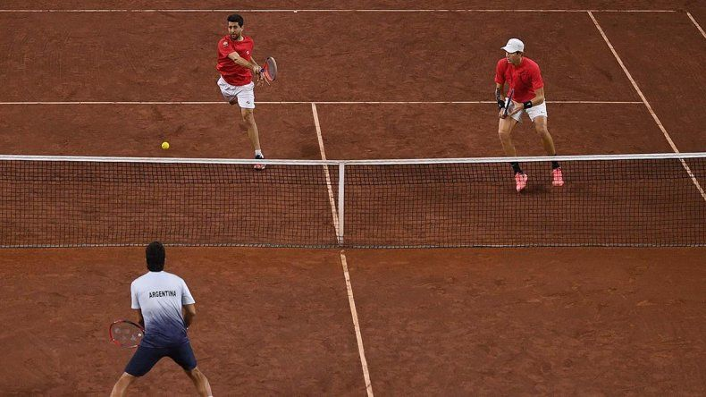 Copa Davis: Chile ganó el dobles y se complicó la serie para Argentina