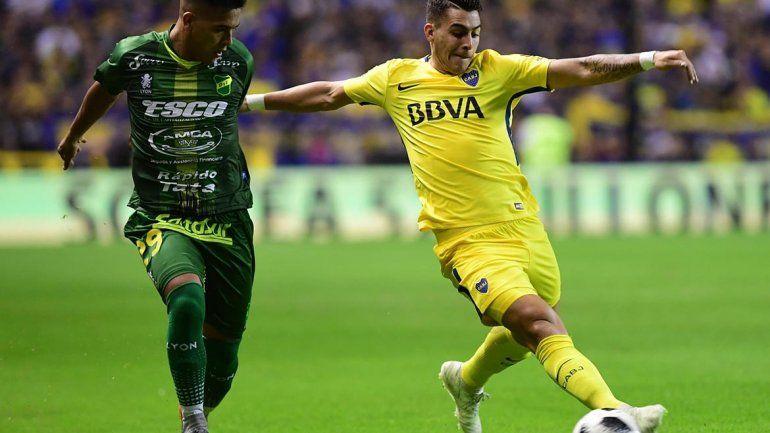 Boca sufrió con sus propios errores y perdió 2 a 1 con Defensa