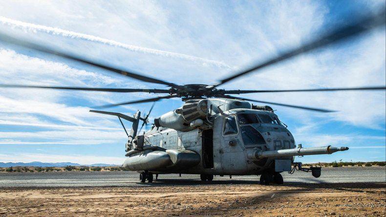 Cayó un helicóptero y murieron dos soldados