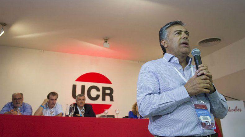 El radicalismo pidió que el vice en 2019 sea de su partido