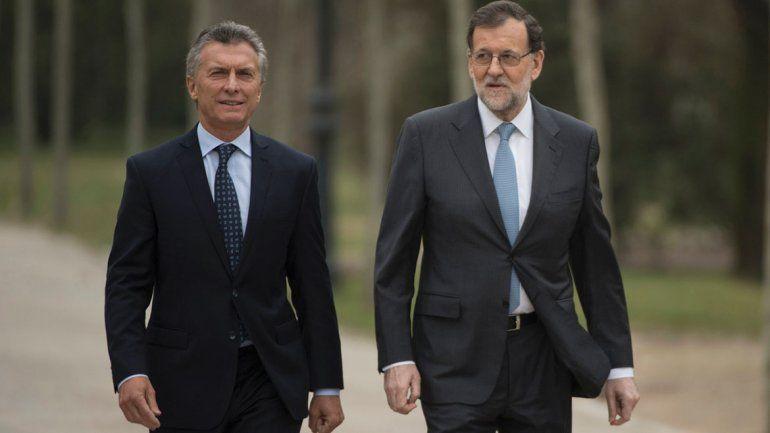 Macri recibirá este martes en la Rosada a Mariano Rajoy
