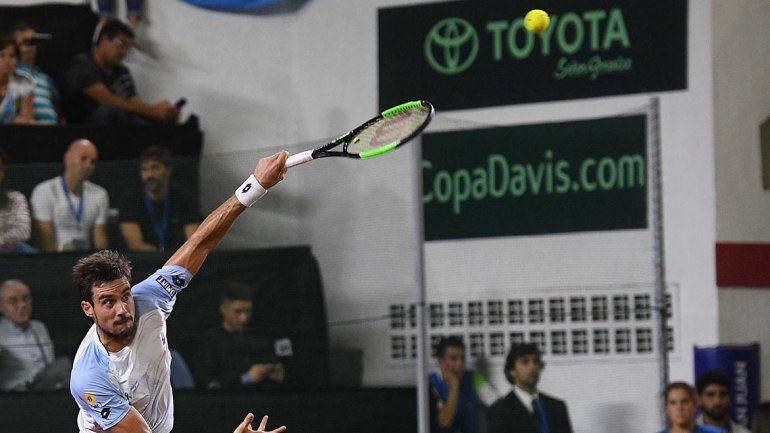 Copa Davis: Argentina logró dar vuelta la serie a Chile en el punto final