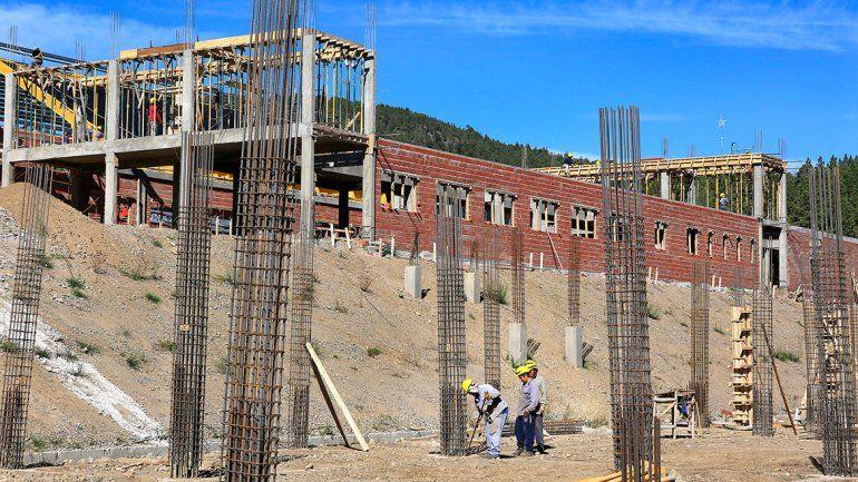 Va tomando forma el nuevo hospital en San Martín