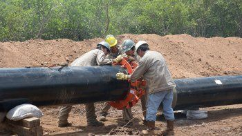 Sólo trabajarán neuquinos en la obra del gasoducto