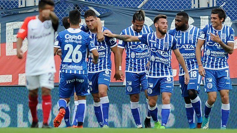Paliza en Boedo: Godoy Cruz goleó por 5 a 0 a San Lorenzo