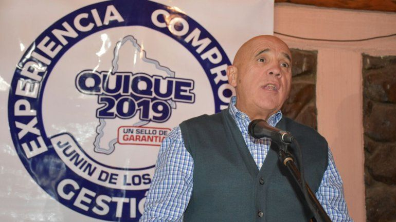 Quique Campos lanzó su candidatura a intendente de Junín