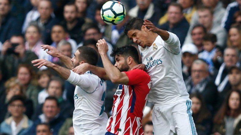 Empate clásico: Real y Atlético Madrid igualaron 1 a 1