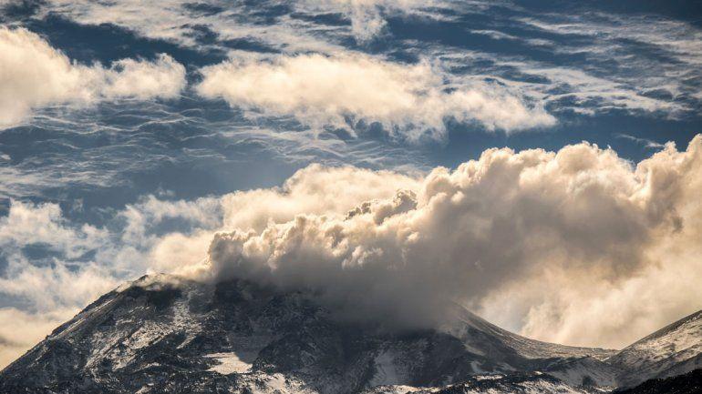El volcán Chillán hizo encender la alarma