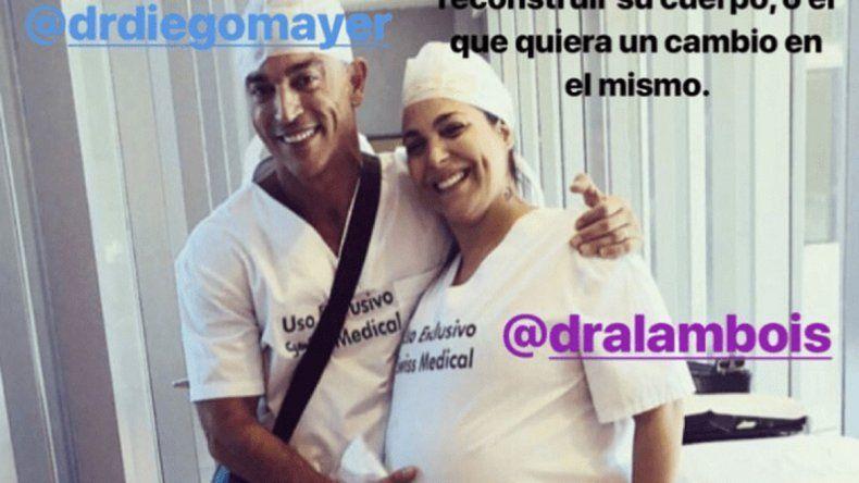 Morena inició un tratamiento contra el sobrepeso en julio del 2016