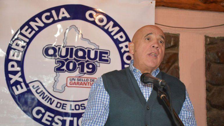 Campos lanzó su candidatura a intendente de Junín