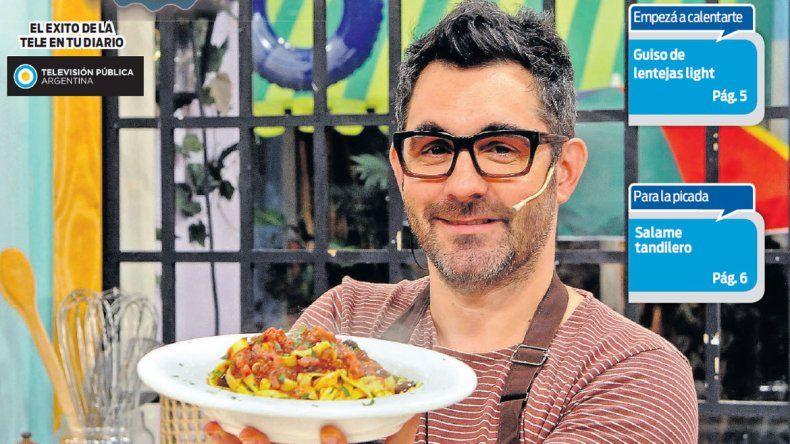 Ponele música a la comida con el suple de Cocineros Argentinos