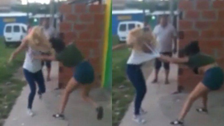 La pelea se viralizó en las redes sociales.