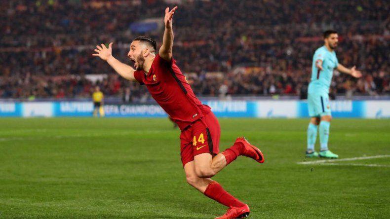 Roma le dio vuelta la serie al Barcelona y lo dejó afuera de la Champions