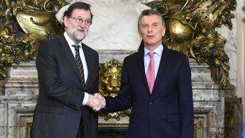 Macri hizo estas declaraciones en la conferencia de prensa que brindó junto a su par de España, Mariano Rajoy.