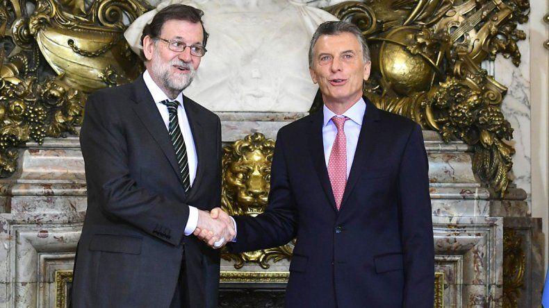 Macri hizo estas declaraciones en la conferencia de prensa que brindó junto a su par de España