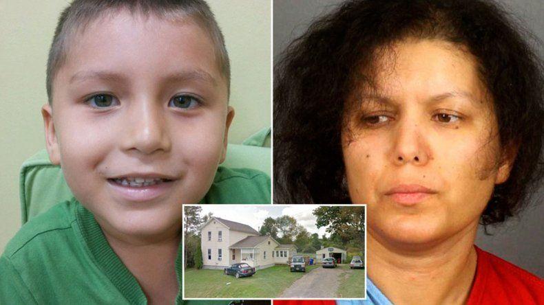 El pequeño de 7 años sufrió la ira de su mamá