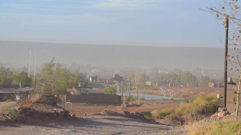 El viento hizo estragos en Rincón y Cutral Co