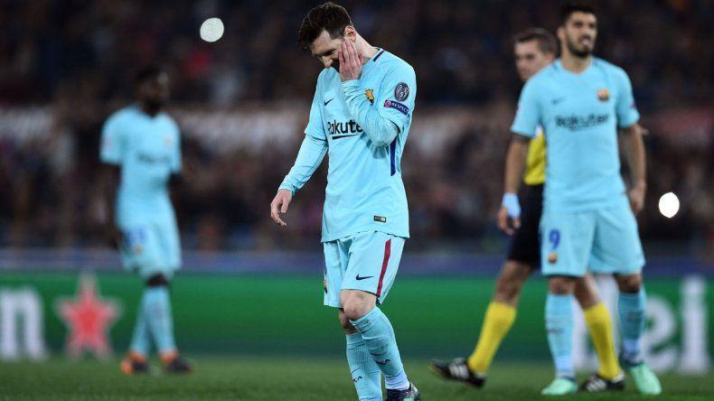 Roma noqueó al Barça de Messi