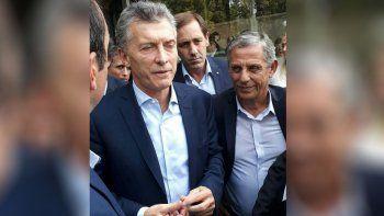 Pechi Quiroga participó del foro de intendentes con Mauricio Macri