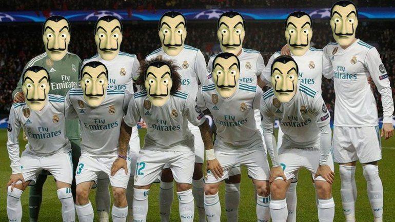 Los memes que inundaron las redes tras el robo del Real Madrid ...