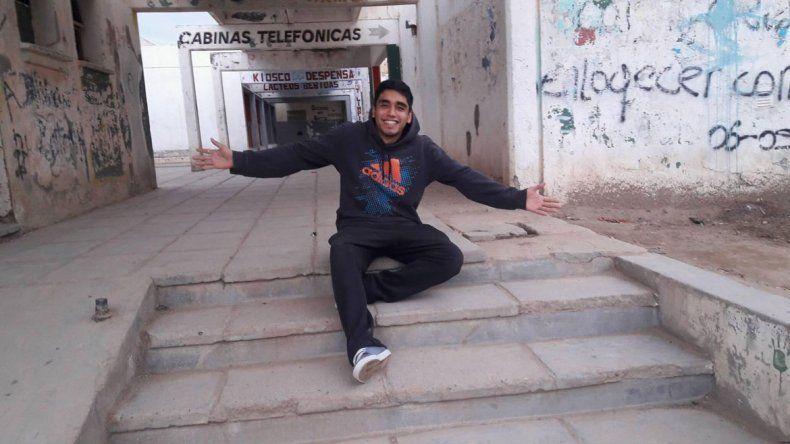 Tras la golpiza policial, Facundo Agüero pasó a sala común