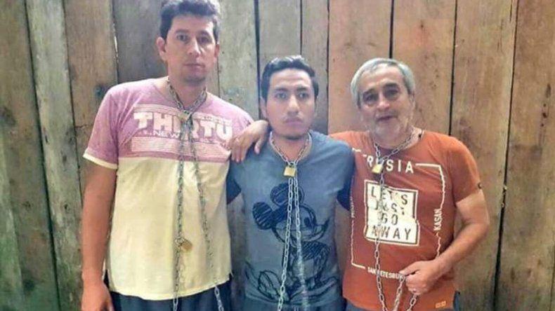Hubo una versión de que mataron a tres periodistas ecuatorianos.