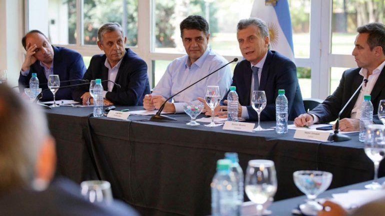 Pechi participó de una reunión junto a otros intendentes de Cambiemos.