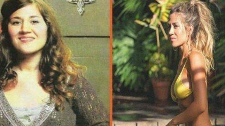 En las redes trascendió una foto de la actriz con otro físico y sin las cirugías que se realizó.