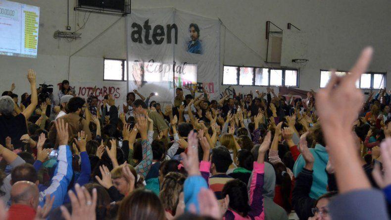 El conflicto con ATEN sigue con cinco días más de paro