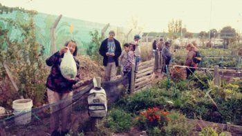 El Proda da capacitaciones sobre agricultura urbana en el Heller