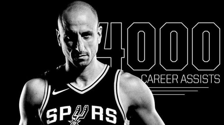 Manu Ginóbili sigue rompiendo récords en la NBA