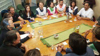 La reunión ATEN-Gobierno pasó a cuarto intermedio