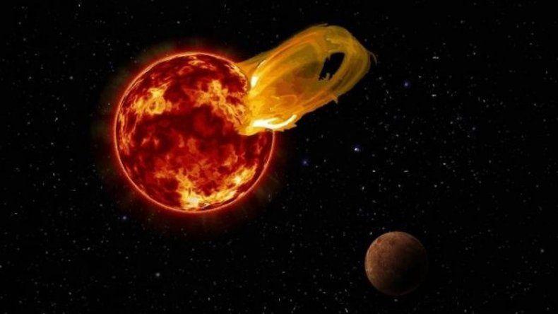 El evento pudo ser visible desde la Tierra en algunos lugares oscuros.