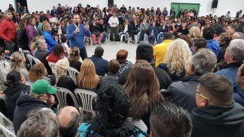 Gutiérrez reunió a su tropa en Neuquén en otro operativo 2019