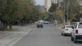suspenden el corte de la avenida por obra del hilton