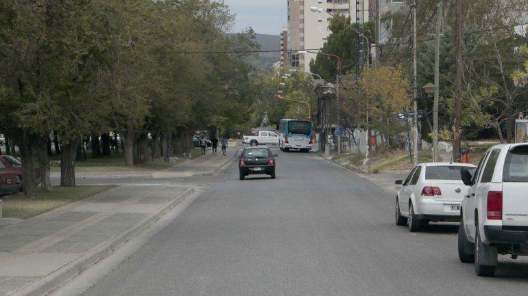 Cortan la Avenida Argentina por la obra del Hilton