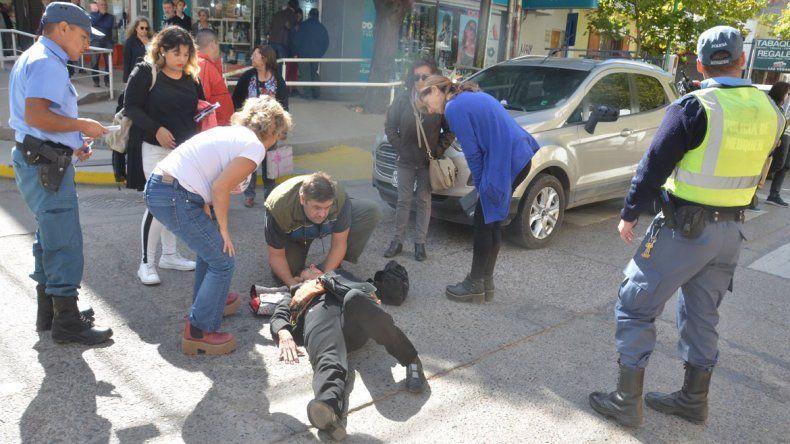Atropellaron a una abuela en Buenos Aires y Ministro González