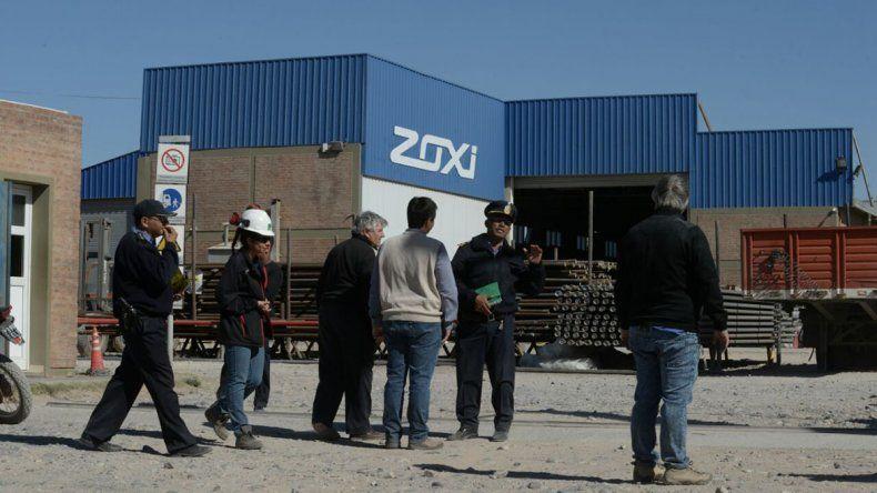 Varios intoxicados por un principio de incendio en una empresa de Parque Industrial