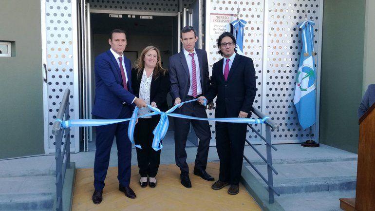Habilitaron nuevas instalaciones de la Ciudad Judicial