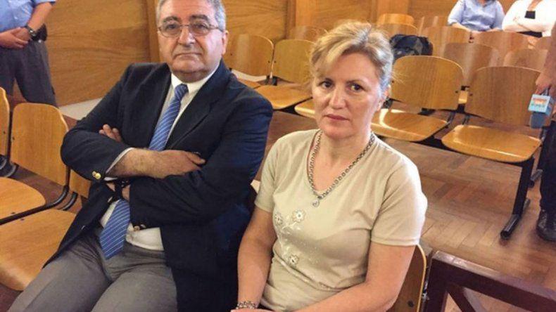 Claudia Rosa Pereyra Da Costa ni se inmutó al escuchar el fallo del juez.