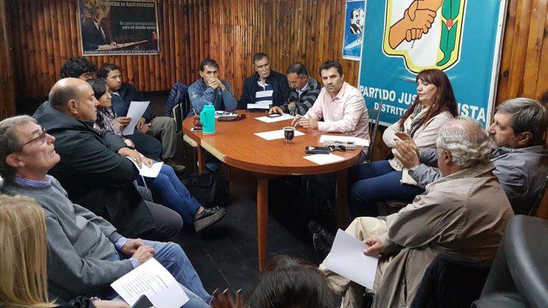 Con la mira en 2019, el PJ neuquino irá a internas el 3 de junio