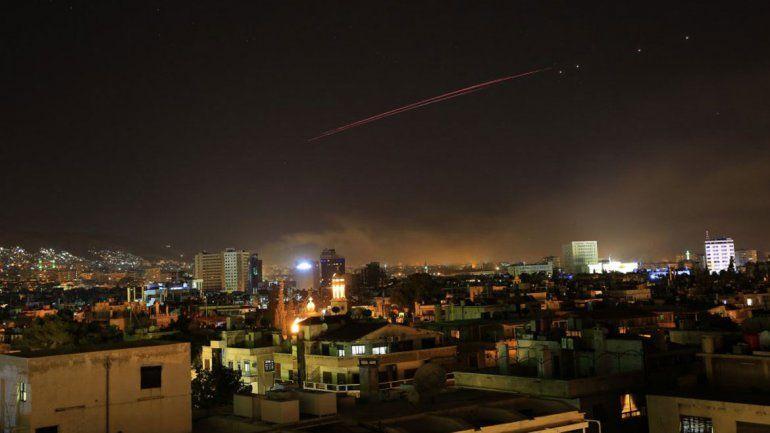 El segundo objetivo de Estados Unidos fue un deposito de armas químicas ubicado al oeste de Homs.
