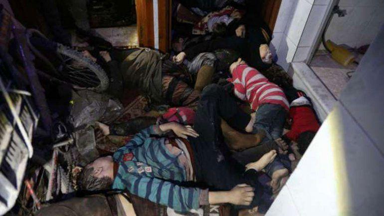 Qué dicen sobre el supuesto ataque con armas químicas que provocó el bombardeo en Siria