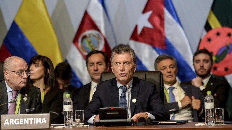 Macri llamó a evitar una escalada de tensión en Siria