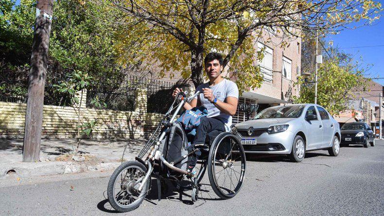 Enrique Plantey: Vivo mi vida sin ninguna barrera